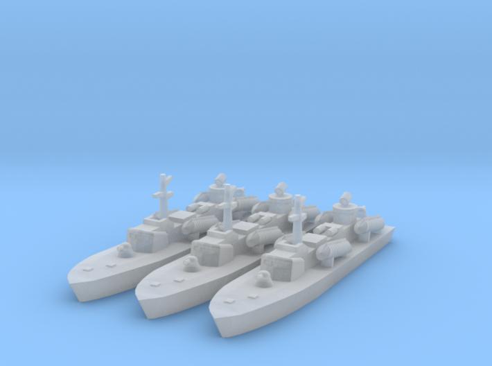 1/1800 Soviet OSA-2 Missile boat 3d printed