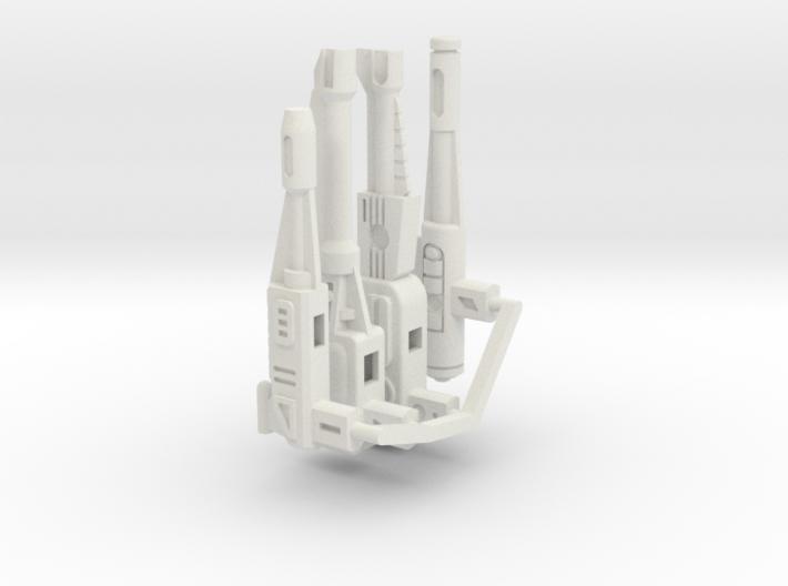 CW Stunticons G1 Gun Set 3d printed