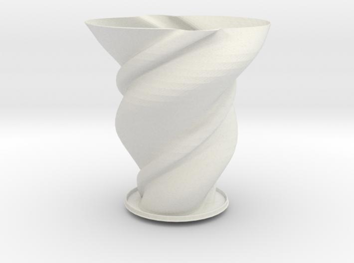 "Vase 'Big Anuya' - 25cm / 10"" 3d printed"