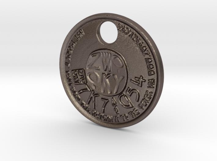 ZWOOKY Style 227 - pendant ZWOOKY 3d printed