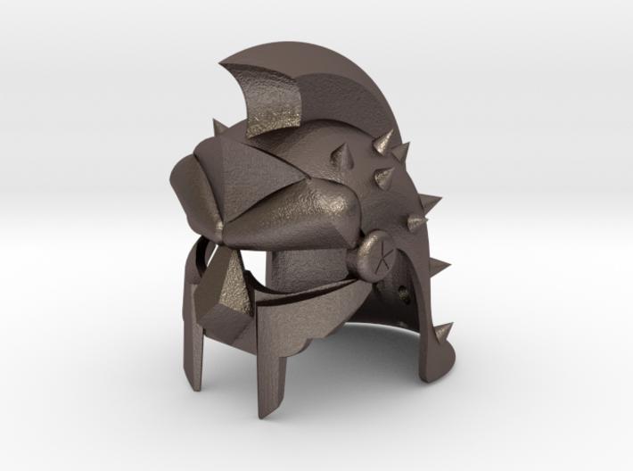 GLADIATOR HELMET REPLICA 3d printed