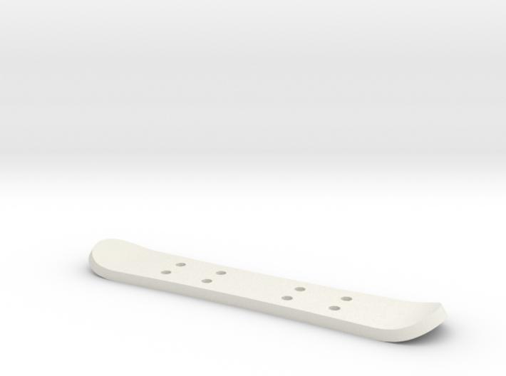 Tiny Snowboard 3d printed