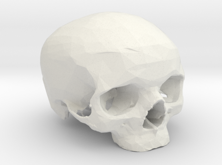 MySkull 3d printed
