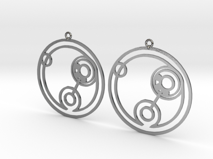 Billie - Earrings - Series 1 3d printed