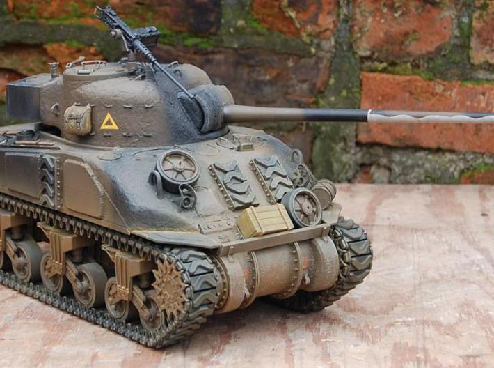 1/16 Heng Long M4 Sherman Three Piece Transmission 3d printed finished part on a Fire Fly