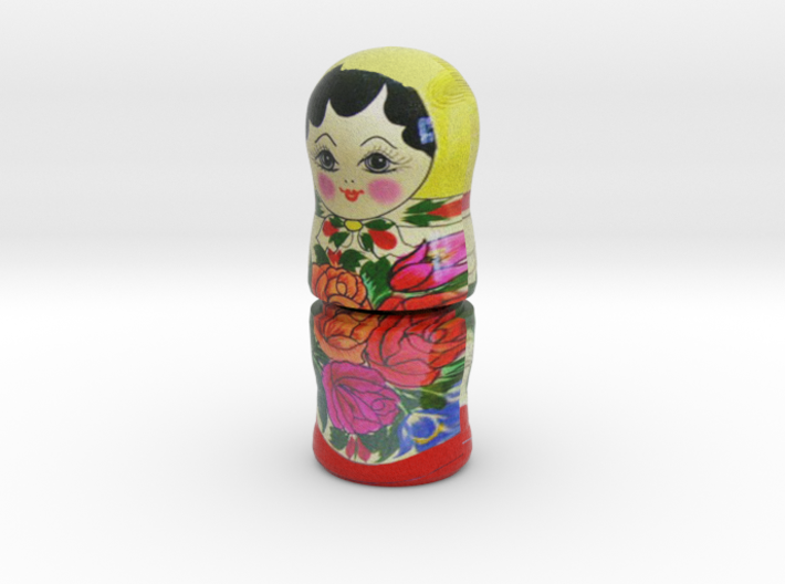 Russian Matryoshka - Piece 2 / 7 3d printed