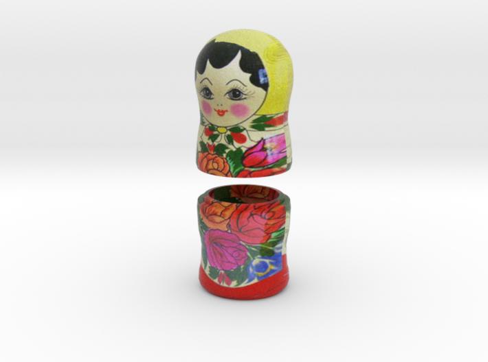 Russian Matryoshka - Piece 7 / 7 3d printed