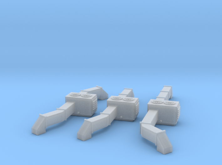 Roof Top AC Units Z Scale 3d printed Roof Top AC Units Z scale