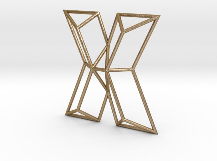 X Typolygon 3d printed
