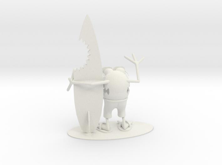 Shark Bite Gnome 3d printed