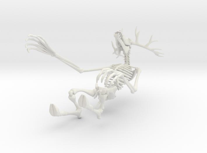 Wendigo Skeleton 3d printed