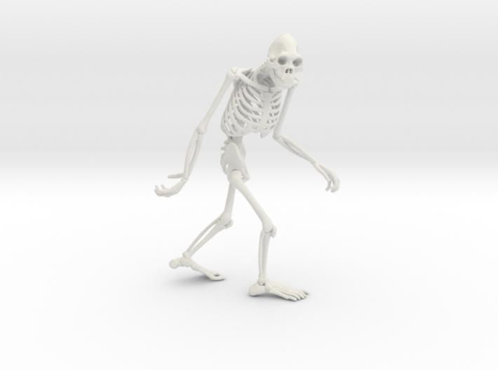 Sasquatch Skeleton 3d printed