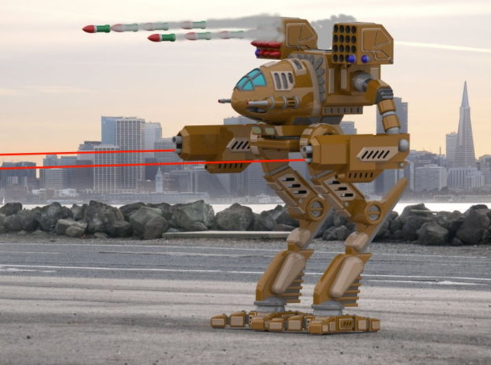 Mad Cat / Timber Wolf Battlemech 1/72 Scale 3d printed Add a caption...