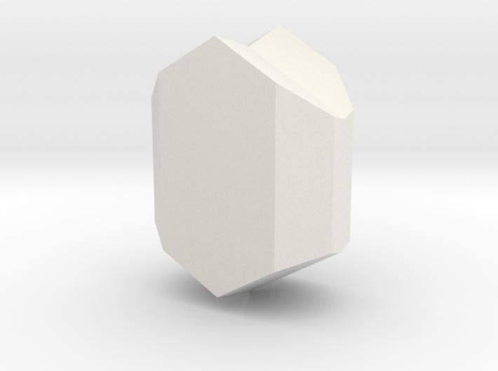 Clinopyroxene twin 3d printed