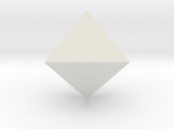 Trigonal bipyramid 3d printed