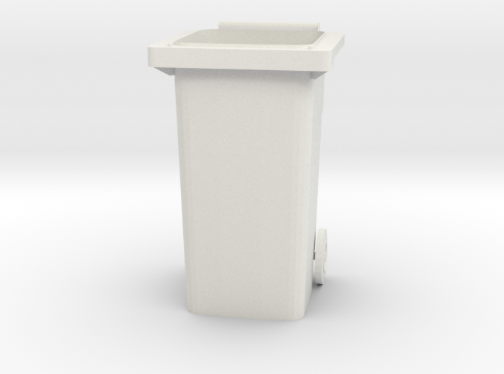 "Modern Garbage Can for 6"" figures 3d printed"