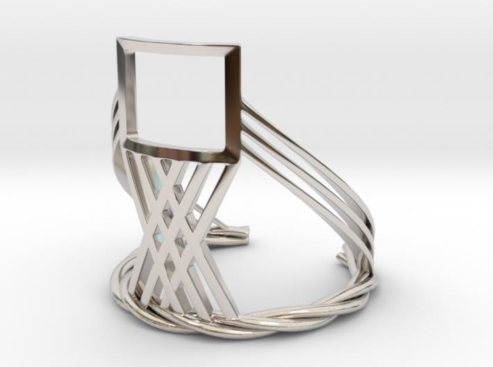 The Window (Bracelet) 3d printed