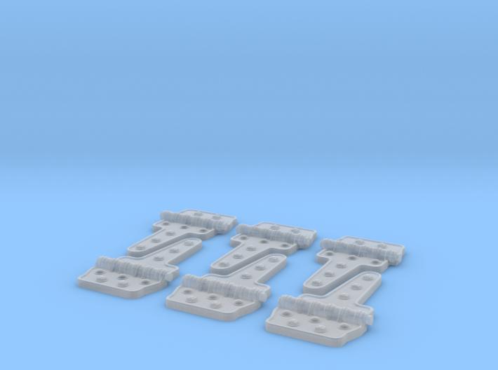 Reefer Hinges 1-20-3 Version-030415 3d printed