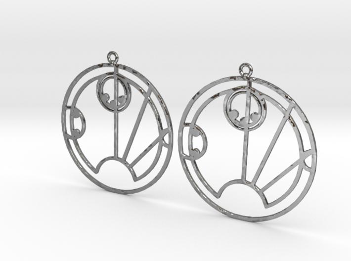 Sally - Earrings - Series 1 3d printed