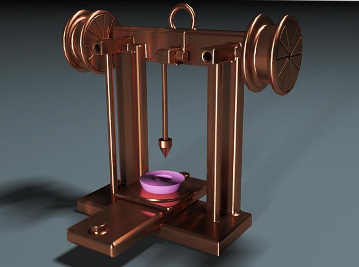 3D Printer Pendant 3d printed