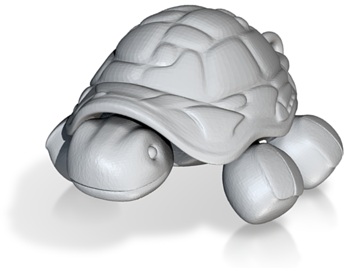 Tortoise Charm (with link) 3d printed