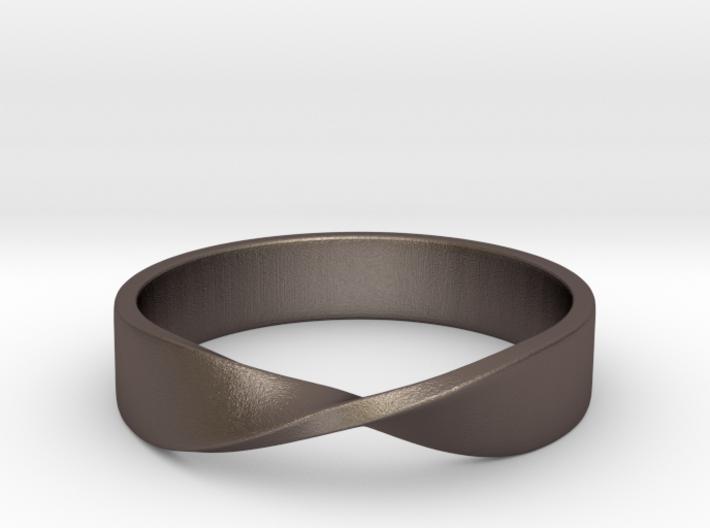 Mobius Ring (Size 7) 3d printed