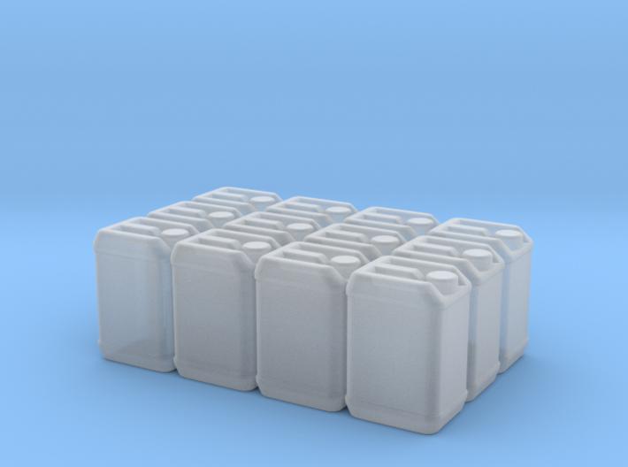 Blaue Kanister Für Paletten 3d printed