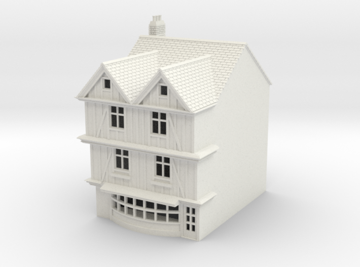 TFS-69 N Scale Topsham Fore Street building 1:148 3d printed
