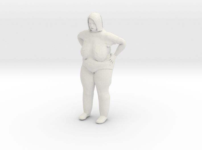 Old Fat Lady 1/29 scale 3d printed