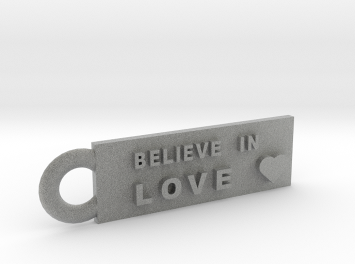 Believe in Love 3d printed