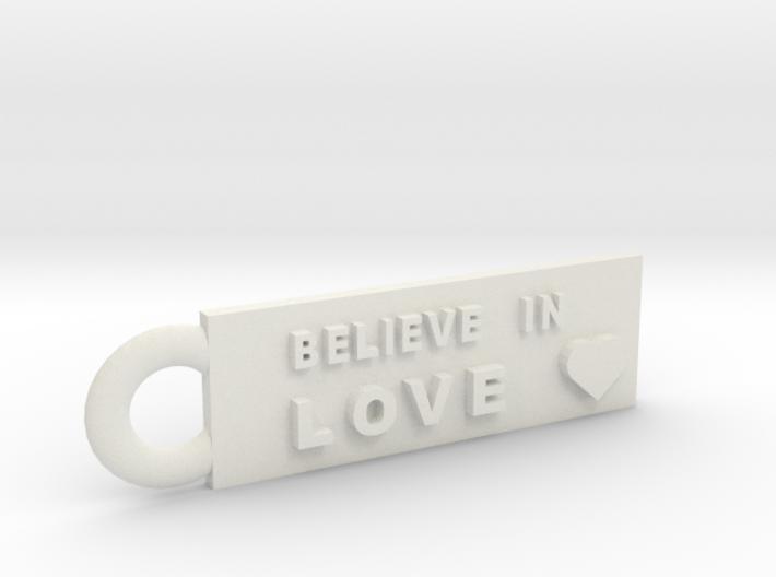 Believe in Love 3d printed