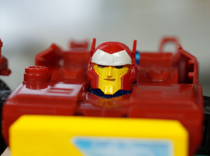 """Broadcaster Head """"MTMTE"""" 3d printed"""