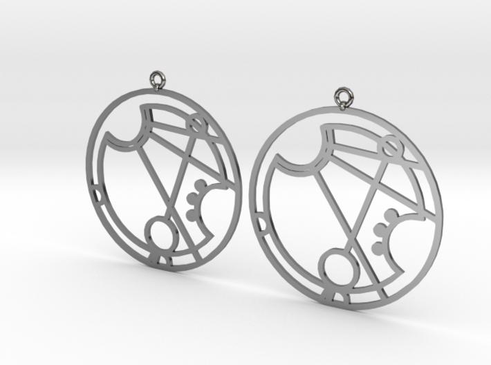 Marissa - Earrings - Series 1 3d printed