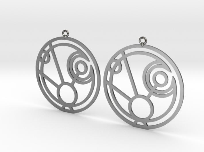 Maggie - Earrings - Series 1 3d printed