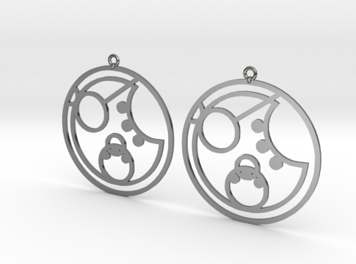 Lorna - Earrings - Series 1 3d printed