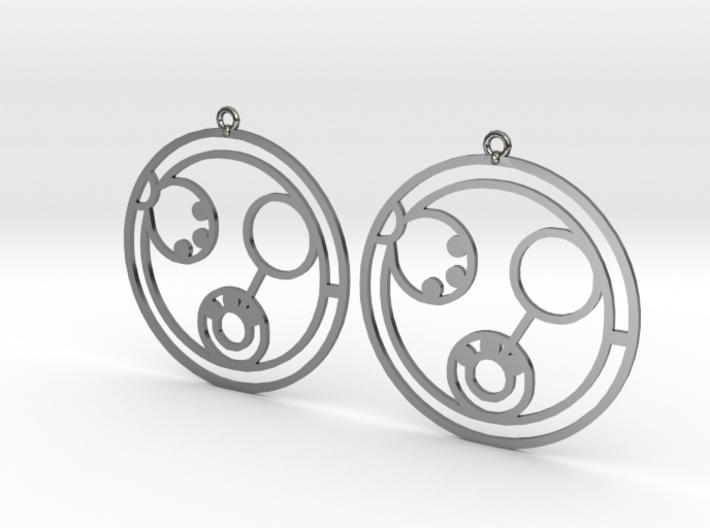 Linda - Earrings - Series 1 3d printed