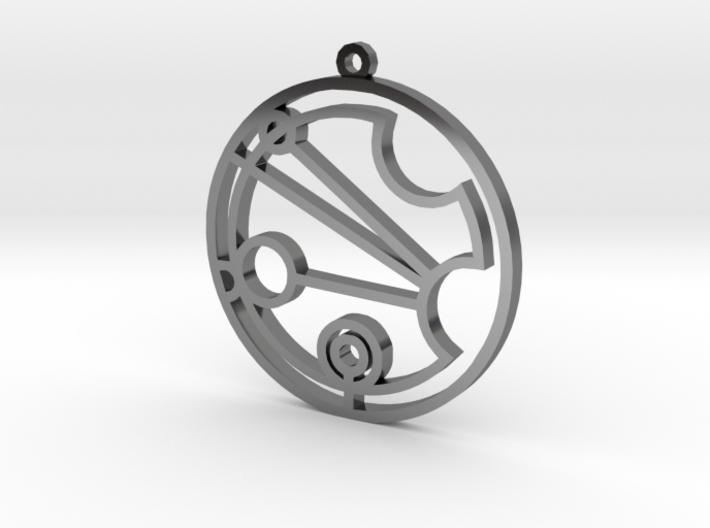 Justina - Necklace 3d printed
