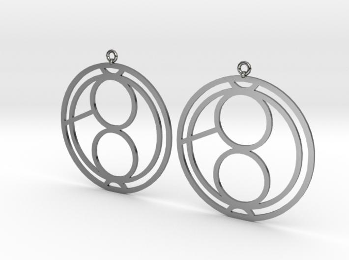 Jana - Earrings - Series 1 3d printed