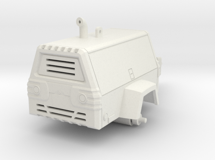 1/64 Towable Air Compressor 3d printed