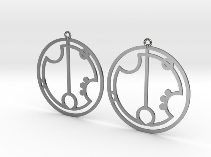 Greta - Earrings - Series 1 3d printed
