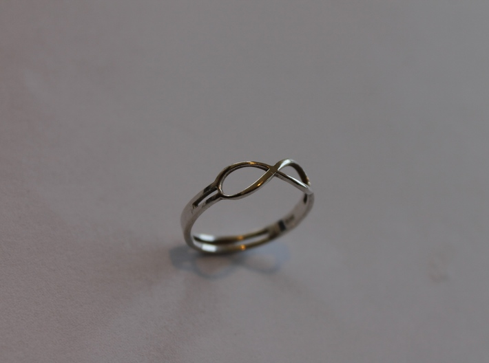 68 Forever Ring Size 7 3d printed