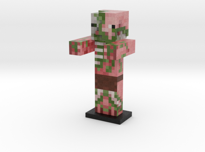 Zombie Pigman Sans Sword 3d Printed