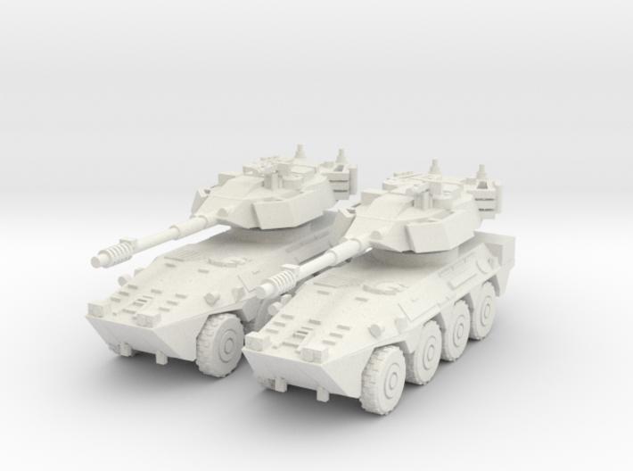 1/144 B1 Centauro recon car 3d printed