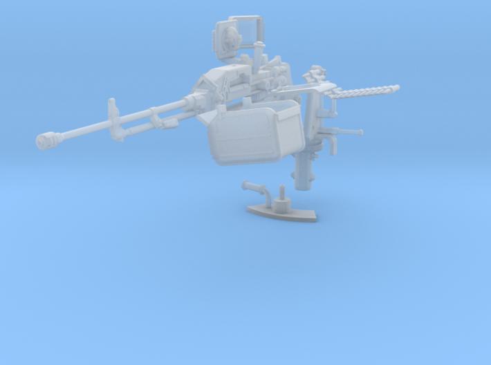 1-16 Chinese QJC88 Tank Machine Gun 3d printed