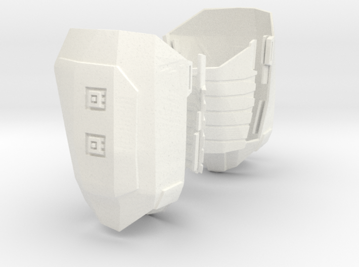 1:6 thigh armor polish WSF version 3d printed
