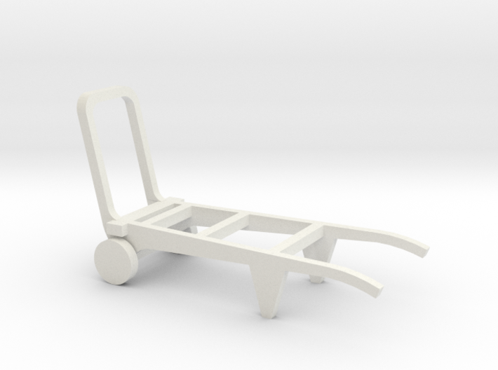 Porters trolley in O scale 3d printed