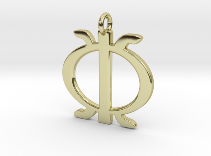 Wawa aba - African strength symbol 3d printed