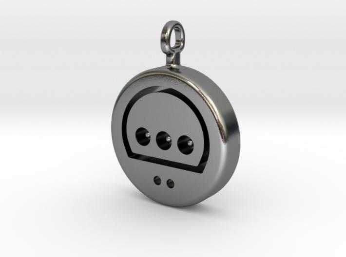 N64 His Controller Pendant 3d printed