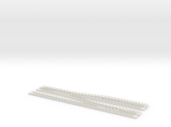 Dammtor Throat With Railings 3d printed
