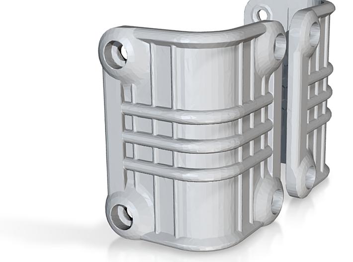 Ascender K5 Blazer Rear Light Bucket Covers (STL) 3d printed